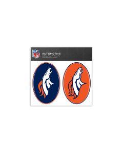 Denver Broncos Small Decal Pack