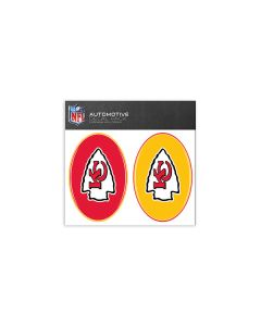 Kansas City Chiefs Small Decal Pack
