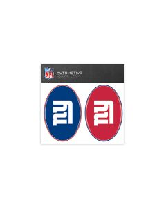 New York Giants Small Decal Pack
