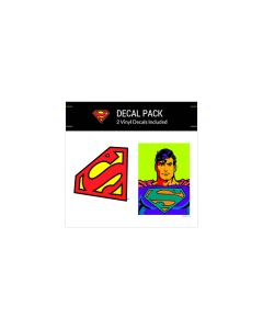 Superman Neon Small Decal Pack
