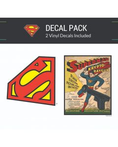 Superman Vintage Collection Small Decal Pack