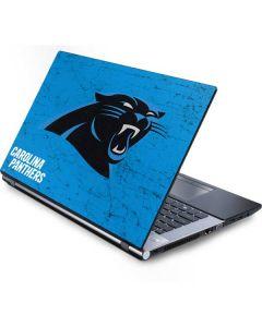 Carolina Panthers Distressed Alternate Generic Laptop Skin