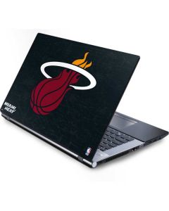 Miami Heat Black Partial Logo Generic Laptop Skin