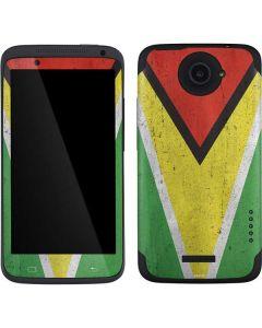 Guyana Flag Distressed One X Skin