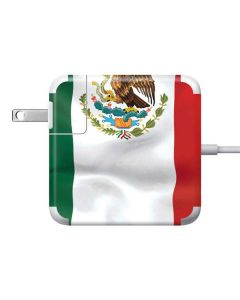 Mexico Flag 85W Power Adapter (15 and 17 inch MacBook Pro Charger) Skin