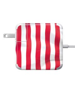 USA Flag 85W Power Adapter (15 and 17 inch MacBook Pro Charger) Skin