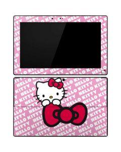 Hello Kitty Pink Bow Peek Surface RT Skin