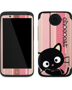 Chococat Pink and Brown Stripes One X Skin