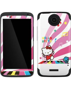 Hello Kitty Dancing Notes One X Skin