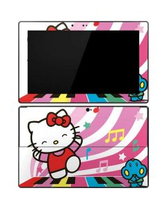 Hello Kitty Dancing Notes Surface RT Skin