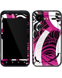 Pink and White Hipster Droid Incredible 2 Skin
