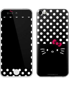 Hello Kitty Black Apple iPod Skin