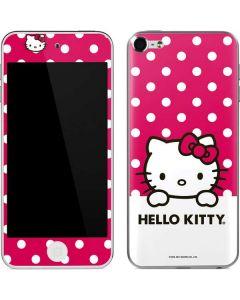 HK Pink Polka Dots Apple iPod Skin