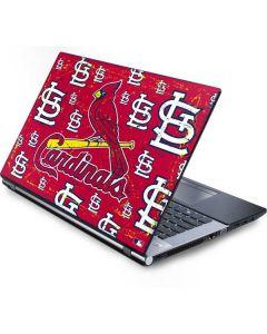 St. Louis Cardinals - Primary Logo Blast Generic Laptop Skin