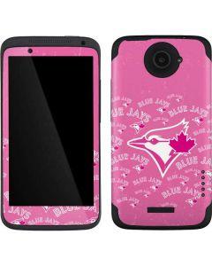 Toronto Blue Jays Pink Cap Logo Blast One X Skin