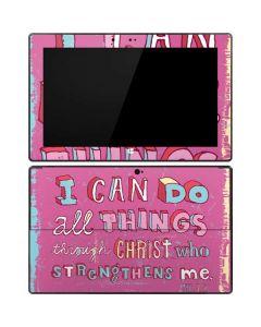 Philippians 4:13 Pink Surface RT Skin
