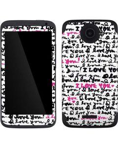 Written Love One X Skin