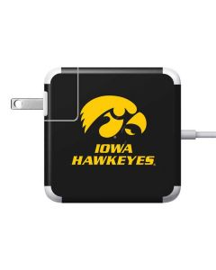 Iowa Hawkeyes 85W Power Adapter (15 and 17 inch MacBook Pro Charger) Skin