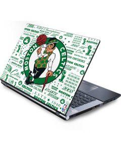 Boston Celtics Historic Blast Generic Laptop Skin