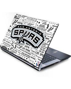 San Antonio Spurs Historic Blast Generic Laptop Skin