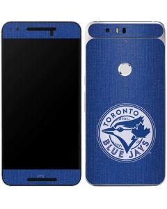 Toronto Blue Jays Monotone Google Nexus 6P Skin
