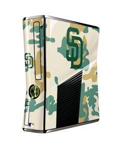 San Diego Padres Camouflage #2 Xbox 360 Slim (2010) Skin