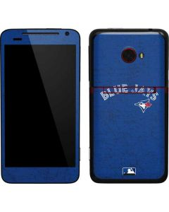 Toronto Blue Jays Solid Distressed EVO 4G LTE Skin