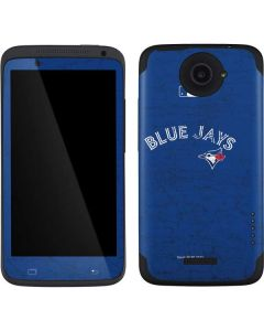 Toronto Blue Jays Solid Distressed One X Skin