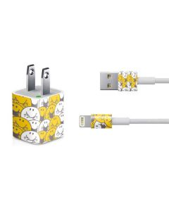 Mr Happy Collage iPhone Charger (5W USB) Skin