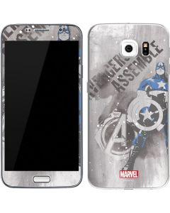 Captain America is Ready Galaxy S6 Skin