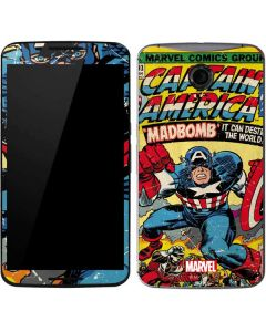 Marvel Comics Captain America Google Nexus 6 Skin