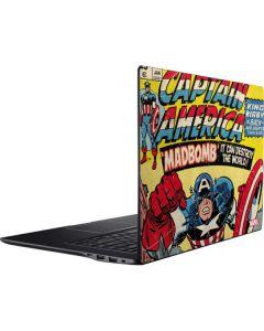 Marvel Comics Captain America Ativ Book 9 (15.6in 2014) Skin