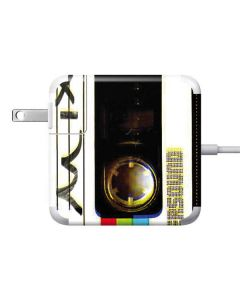 Old Mixtape 85W Power Adapter (15 and 17 inch MacBook Pro Charger) Skin