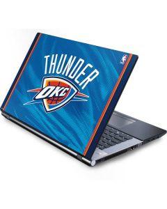 Oklahoma City Thunder Blue Jersey Generic Laptop Skin