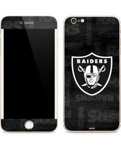 Las Vegas Raiders Black & White iPhone 6/6s Plus Skin
