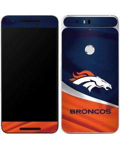 Denver Broncos Google Nexus 6P Skin