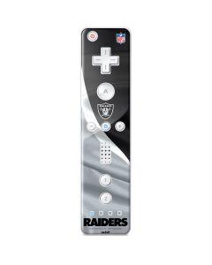 Las Vegas Raiders Wii Remote Controller Skin