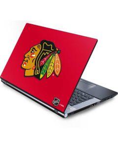 Chicago Blackhawks Solid Background Generic Laptop Skin