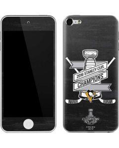 Pittsburgh Penguins 2016 National Champions Apple iPod Skin