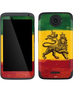 The Lion of Judah Rasta Flag One X Skin