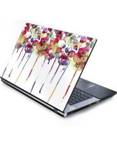 Painted Flowers Generic Laptop Skin