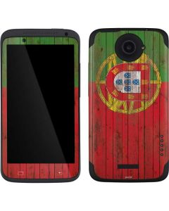 Portuguese Flag Dark Wood One X Skin