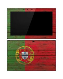 Portuguese Flag Dark Wood Surface RT Skin
