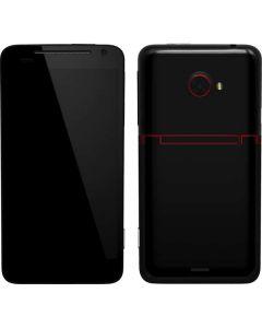 Silver Carbon Fiber EVO 4G LTE Skin