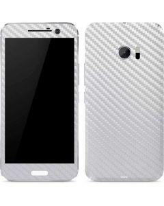 White Carbon Fiber 10 Skin