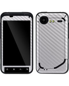 White Carbon Fiber Droid Incredible 2 Skin