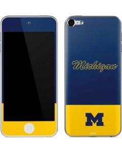 University of Michigan Split Apple iPod Skin