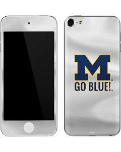 Michigan Go Blue Apple iPod Skin