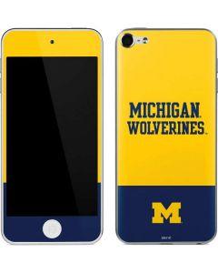 Michigan Wolverines Split Apple iPod Skin