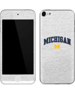 University of Michigan Heather Grey Apple iPod Skin